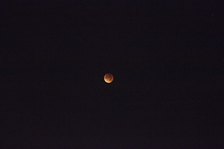 Blood moon and super moon.
