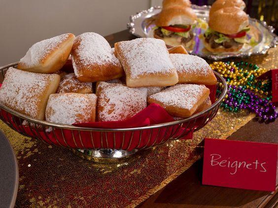 Beignets recipe from Trisha Yearwood via Food Network