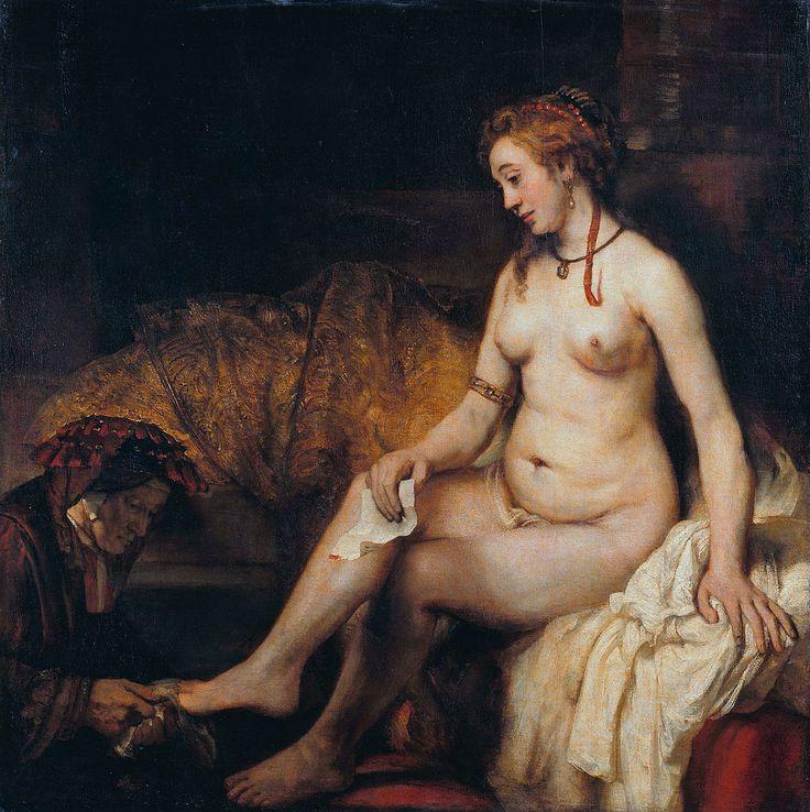 Rembrandt - Betsabé - 1654