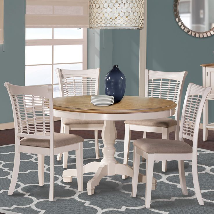 Hillsdale Bayberry 5-Piece Round Dining Set | from hayneedle.com