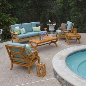 Wonderful Best Teak Garden Furniture  Would Look So Nice By The Pool. Great Ideas