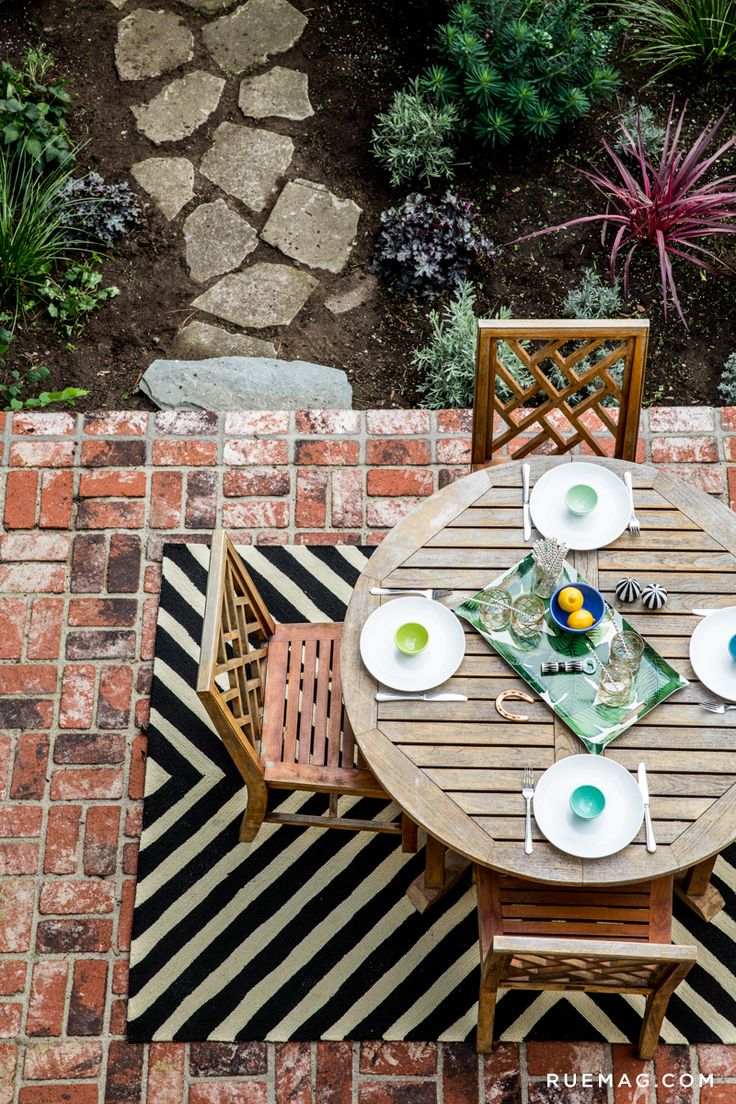 Patio Rug Inspiration Styled In A SF Home By Rue Magazine | Loloi Palm  Springs PM