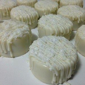 pão de mel beijinho com chocolate branco