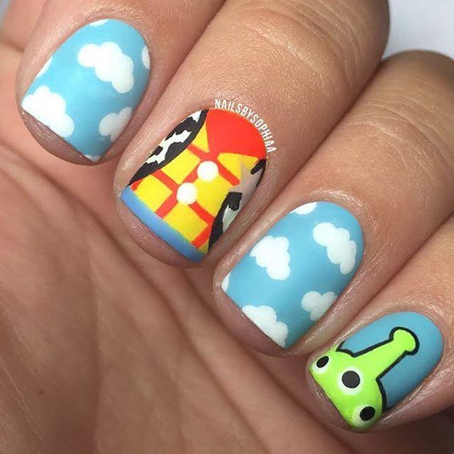 Instagram media nailsbysophiaa -  toy story #nail #nails #nailart
