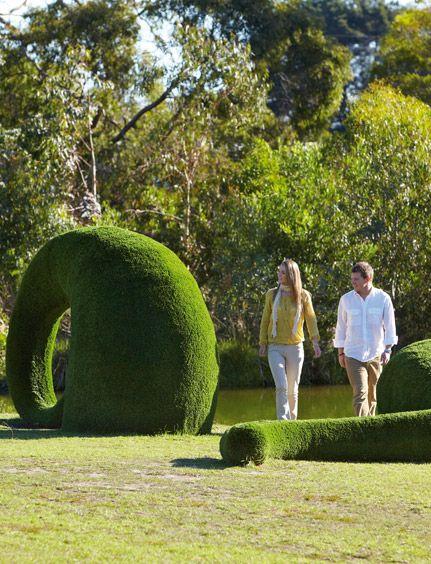 McClelland Gallery + Sculpture Park - The Official Website of Mornington Peninsula Tourism #morningtonpeninsula