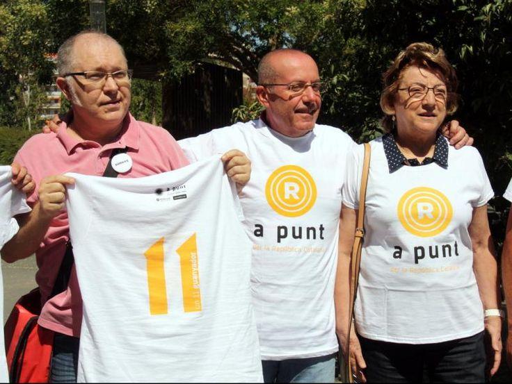 LANC i Òmnium anuncien un batec simultani a les cinc seus de la Diada per simbolitzar larribada de la república catalana
