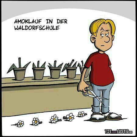 Waldorfschule Witze