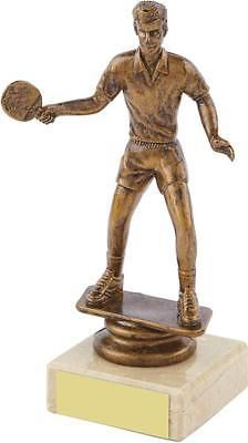 Table #tennis trophy,antique #gold,marble base,145mm,free #engraving (t6856)twt,  View more on the LINK: 	http://www.zeppy.io/product/gb/2/191779360262/