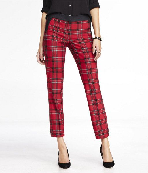 Perfect Popular Women Plaid PantsBuy Cheap Women Plaid Pants Lots From