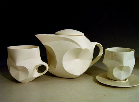 You won't believe this tea set is made from paper