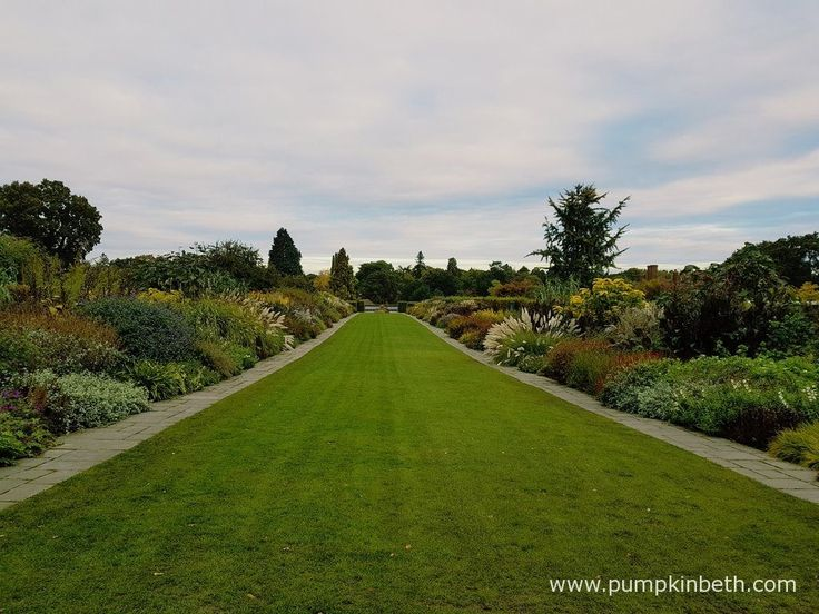 The Mixed Borders at RHS Garden Wisley are still looking lovely in October. Pictured on the 19th October 2016, at Taste of Autumn.