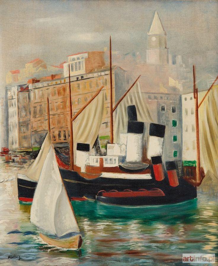 Mojżesz KISLING ● Port w Marsylii