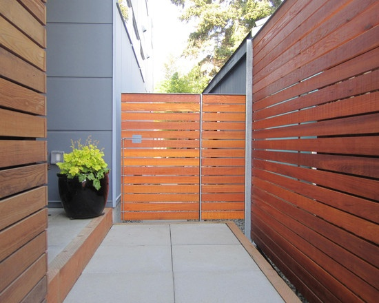 how to make a removable fence section