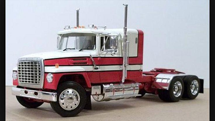 Italeri Ford Truck models