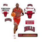 38 in. H x 15 in. W Michael Jordan - Fathead Jr Wall Mural, Multi