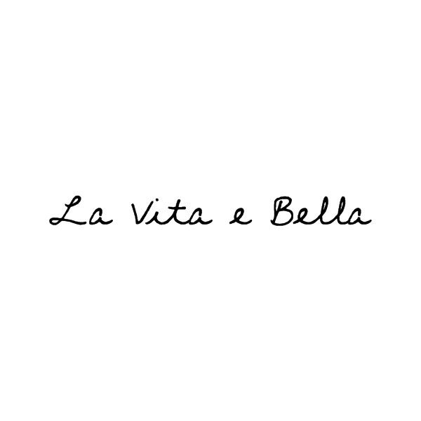 The life is beautiful in italian....IF I ever get a tattoo this is the one I will get. Have wanted it since 16 years old