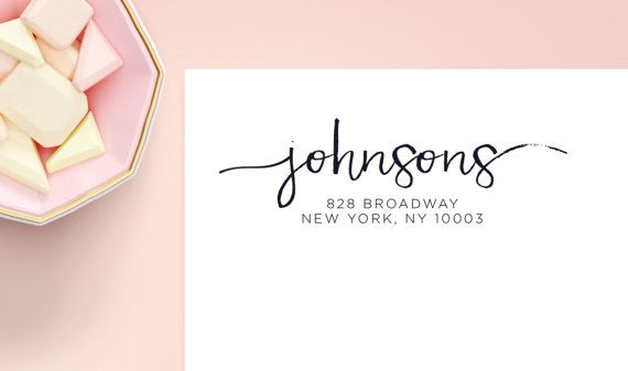 """Transparent Address Labels 2 5/8"""" x 1"""", Glossy Clear Return Labels, Address Label, Custom Address Stickers, Wedding Labels, SET OF 30"""