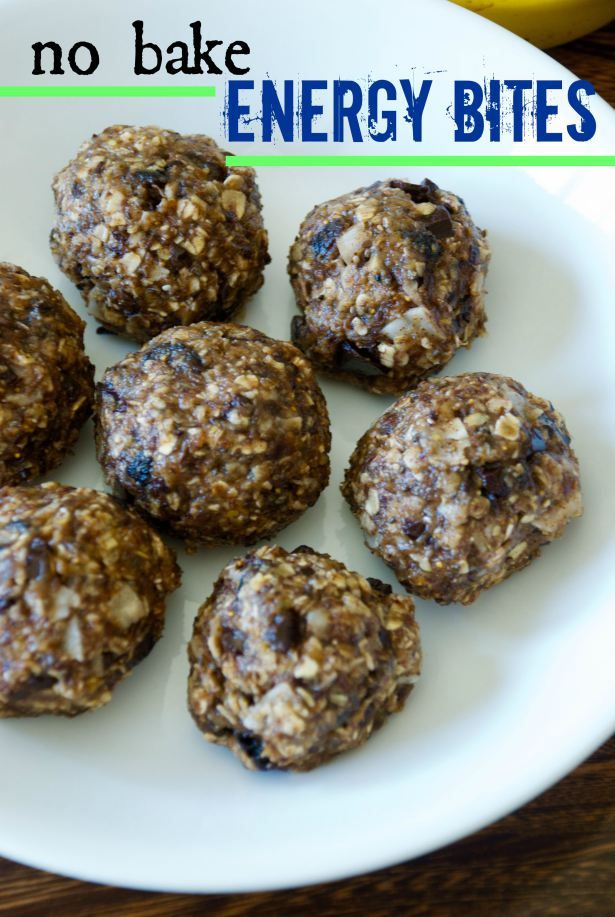 No bake energy bites, Energy bites and The day on Pinterest