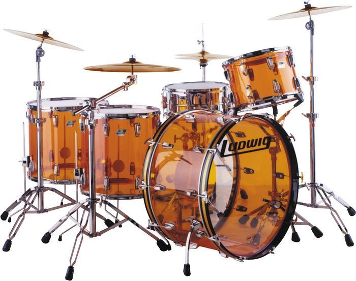 Ludwig John Bonham kit. This is a beautiful drum set.  I would love to play it one day to glorify God.