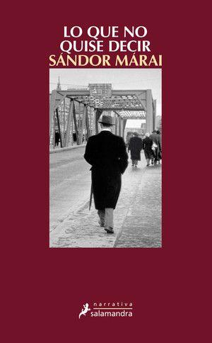 Combinando la confesión íntima con el análisis histórico, Sándor Márai evoca el período entre el 12 de marzo de 1938, cuando la Alemania nazi anexionó Austria, y el 31 de agosto de 1948. Para saber si está disponible en la Biblioteca, pincha a continuación: https://absys.asturias.es/cgi-abnet_Bast/abnetop?TITN=969960