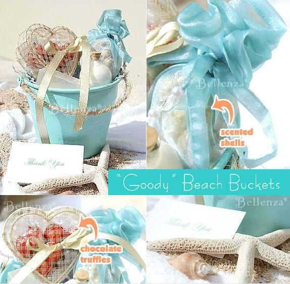 Gifts For Guests Beach Wedding: Surprise Your Beach-Wedding Guests With Gift Buckets