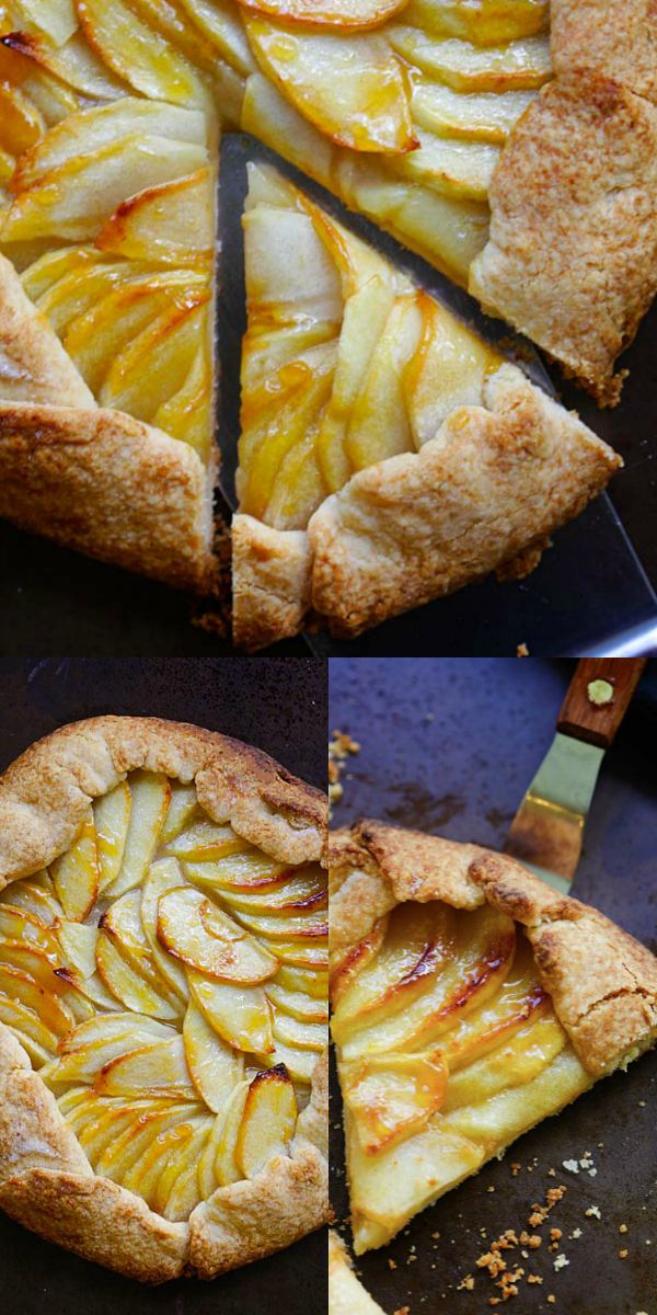 This Apple Tart Recipe Makes The Best Fruit Dessert With A Rustic