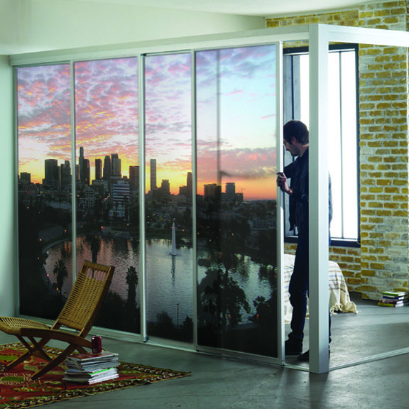 Rendering of UV Printed Sliding Doors & 152 best Completed Print Projects images on Pinterest | Signage ... Pezcame.Com