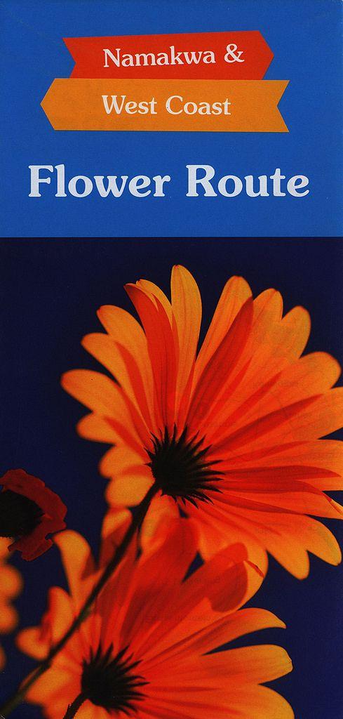 https://flic.kr/p/FHcJjG | Flower Route Namakwa & West Coast; 2013_1, map, South Africa | tourism travel brochure | by worldtravellib World Travel library