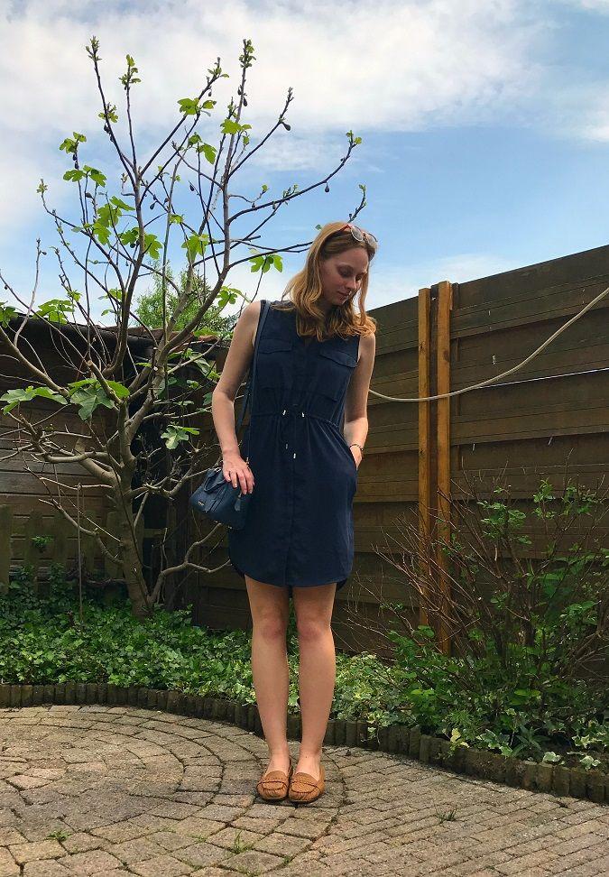 My Merry Morning - blue summer dress