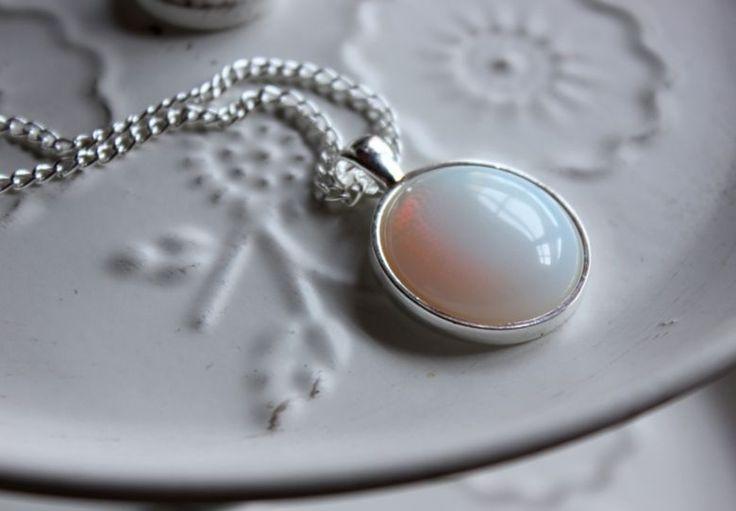 Halskette Opal