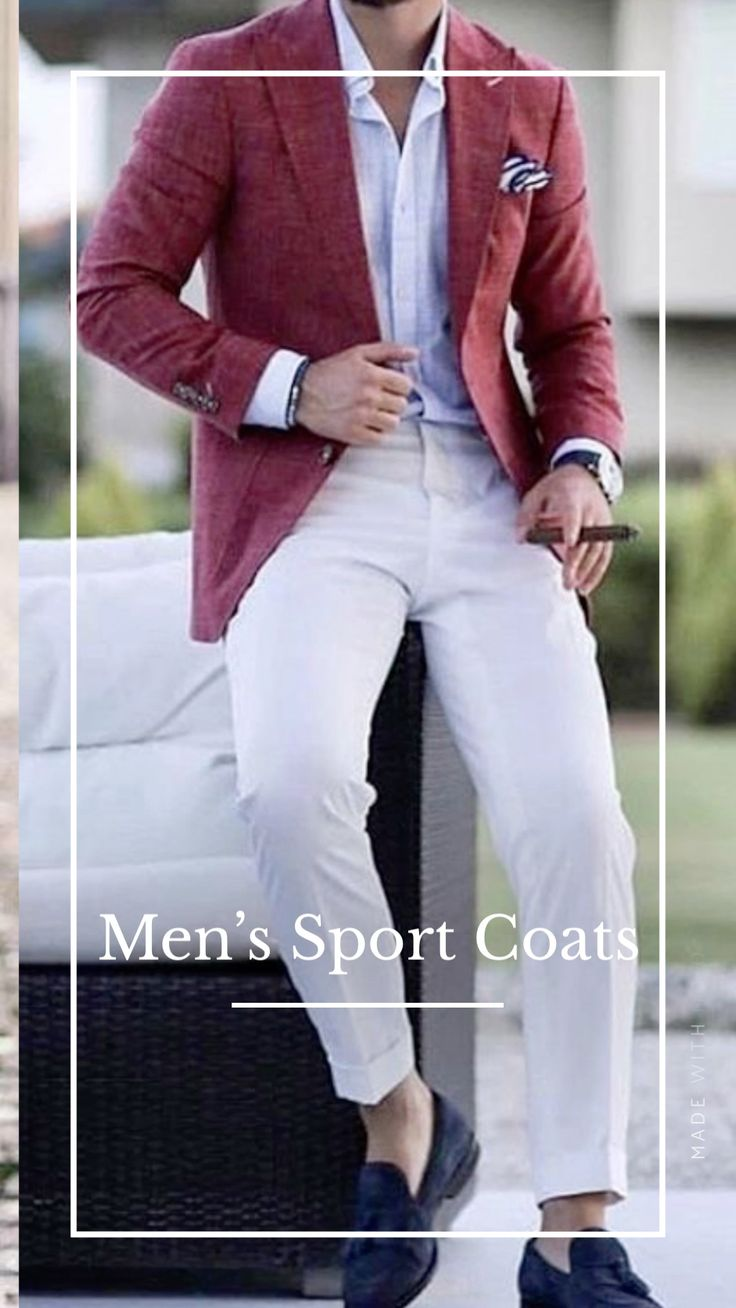 African Fashion, Men's Fashion, Fashion Outfits, Blazer Outfits Men, Designer Suits For Men, Summer Outfits Men, Dapper Men, Men Street, Sports Jacket