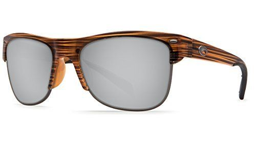 Costa Del Mar Pawleys Teak Frame Sunglasses