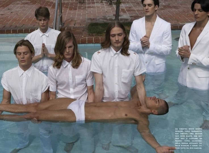 Throwback Thursday: Chad White by Steven Klein for LUomo Vogue