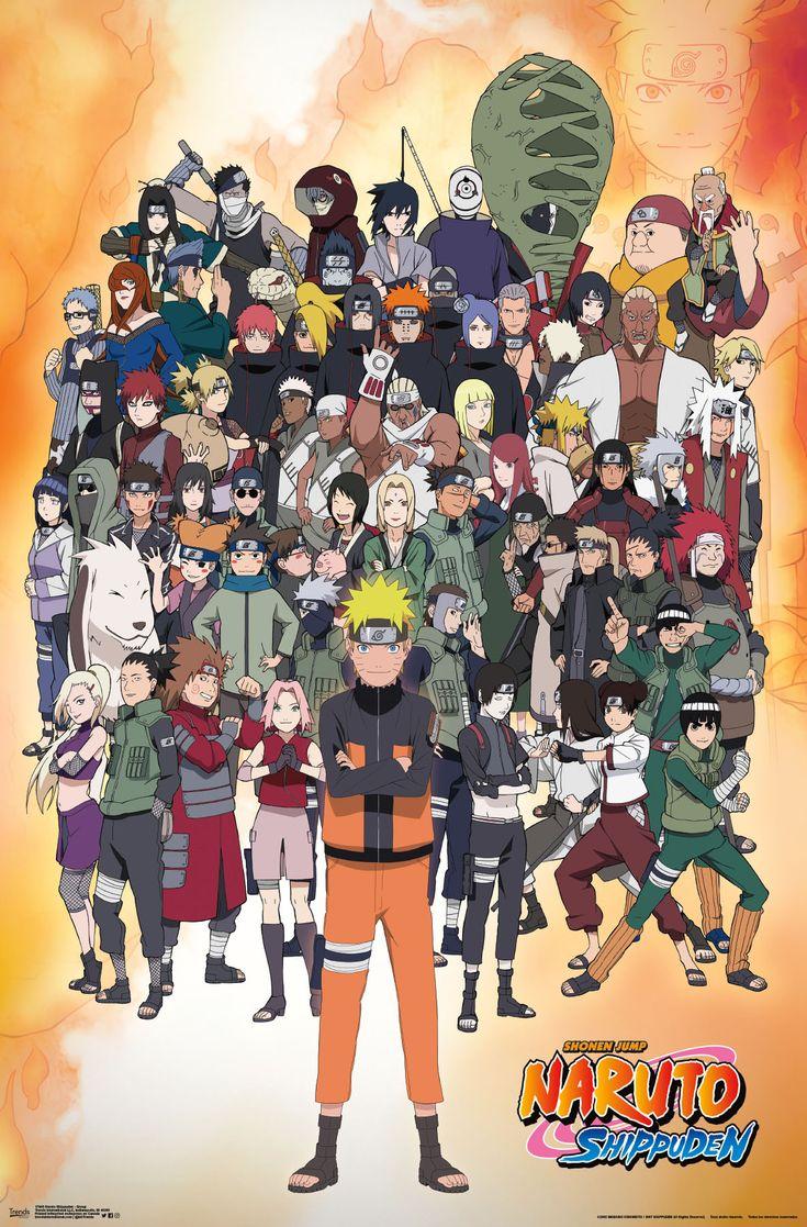 Anime Naruto All Characters