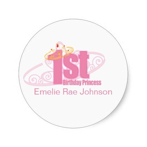 1616 Best 1st Birthday Stickers Images On Pinterest