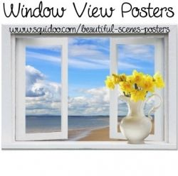 If you don't have beautiful scenes from your own windows, a window view poster can be the perfect way to bring the scenery you most love right...
