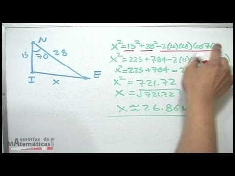Trigonometria- Teorema del seno 1ºBACHI unicoos - YouTube para que que se ayuden un poquito mis compañeros #RDEMX