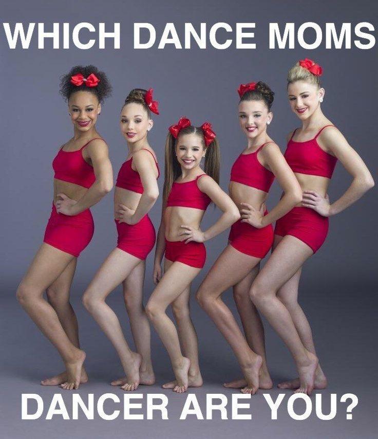 Wich dance moms dancer are you I got Mackenzie Wooooo