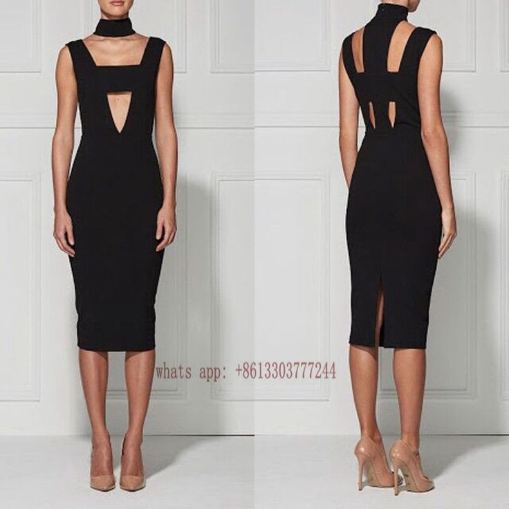 >> Click to Buy << 2017 Sexy Black Vestidios Women Dress Sleeveless Hollow out Short Party Dress Celebrity Night Club Bandage Dresses Wholesale  #Affiliate