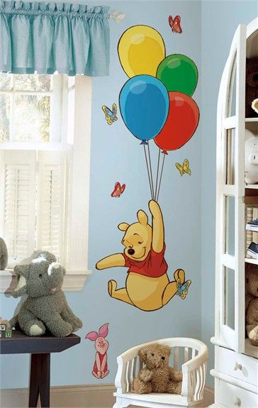 @rosenberryrooms is offering $20 OFF your purchase! Share the news and save! Pooh & Piglet Giant Peel & Stick Wall Decals #rosenberryrooms
