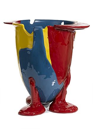 Amazonia Vase By Gaetano Pesce: Made Of Flexible Resin. Measures 13 X 11