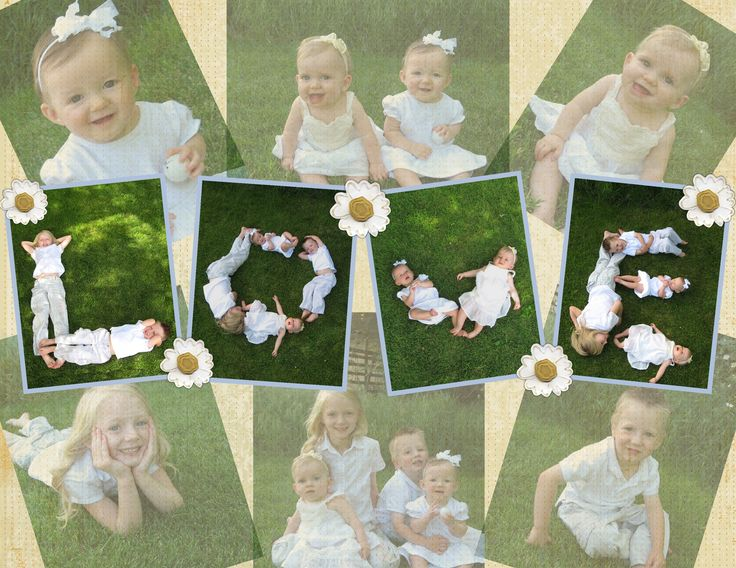 Fun photography pose for 4 or more siblings, or cousins. We are framing the letters for our Father's Day gifts this year. Could also do your last name, or FAMILY. Lay kids in position on the grass. Take pictures of letters below, from a ladder above looking down.