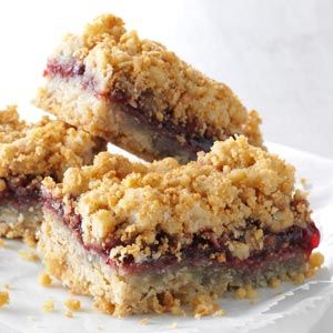 Warren's Oatmeal Jam Squares Recipe from Taste of Home -- shared by Warren S. Patrick of Townshend, Vermont
