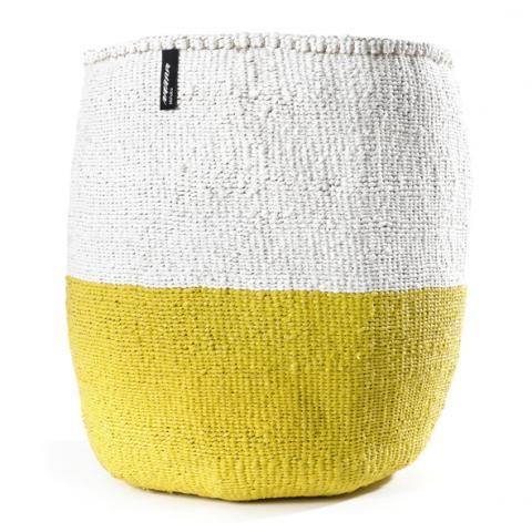 50/50 yellow & white | Mifuko