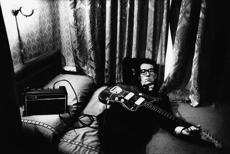 Anton Corbijn. Elvis Costello, Amsterdam 1977