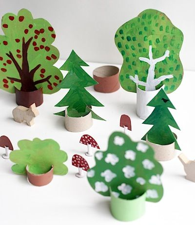 Cardboard Forest Toys to Make