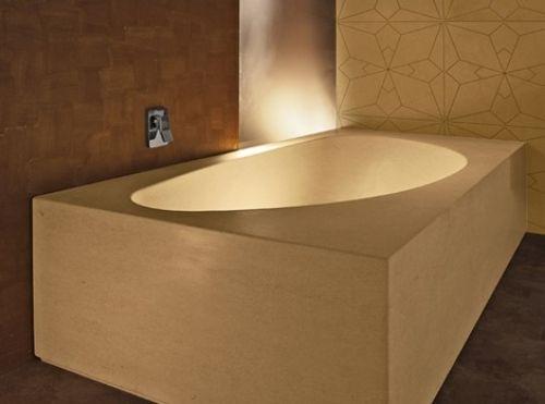 20 Designer Badewannen im minimalistischen Stil für das moderne Bad - bad spiegel high tech produkt badezimmer