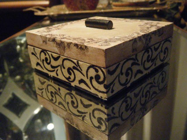 Marilena's Handmade Creations: Κουτιά - Μπιζουτιέρες