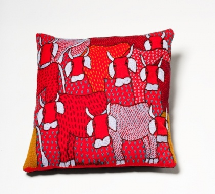 Keiskamma cows cushion