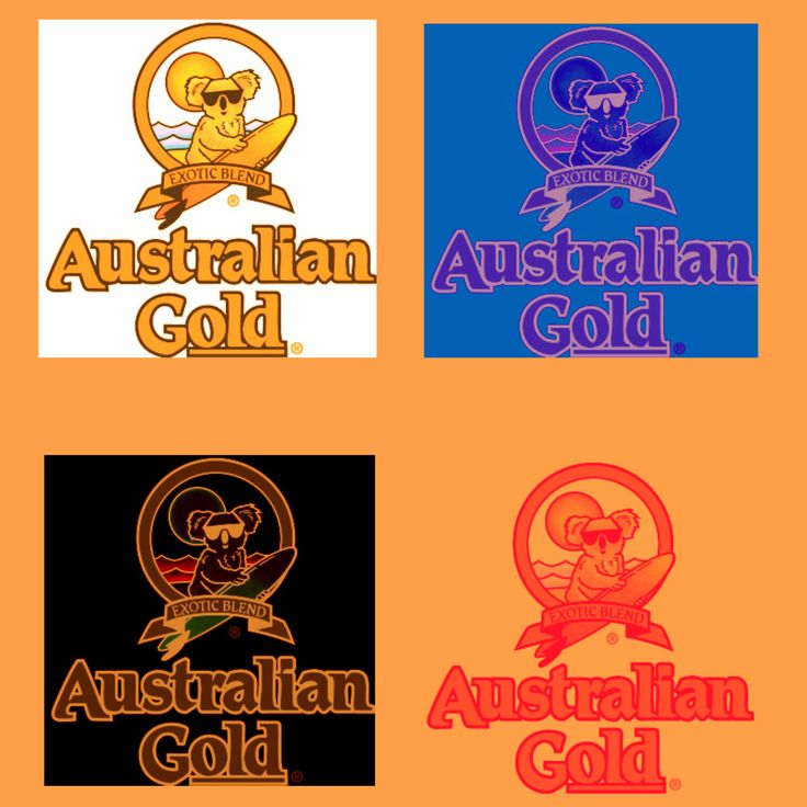 Australian Gold versione Pop Art
